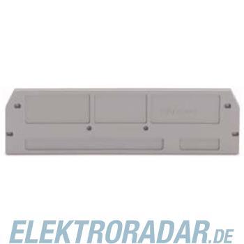 WAGO Kontakttechnik Abschlußplatte 280-376