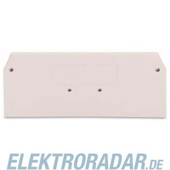 WAGO Kontakttechnik Abschlußplatte 280-358