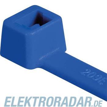 HellermannTyton Kabelbinder T120R-ETFE-BU-L1