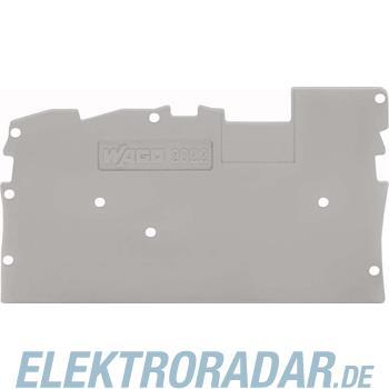 WAGO Kontakttechnik Abschlussplatte 2022-1391