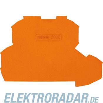 WAGO Kontakttechnik 2L-Abschlussplatte 2000-2292
