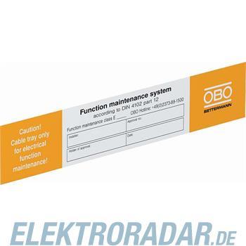 OBO Bettermann Kennzeichnungsschild KS-E EN