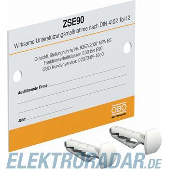 OBO Bettermann Kennzeichnungsschild KS-ZSE DE
