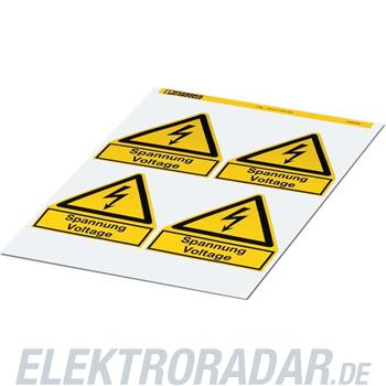 Phoenix Contact Warnschild PML-W201 (100X100)