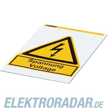 Phoenix Contact Warnschild PML-W201 (200X200)