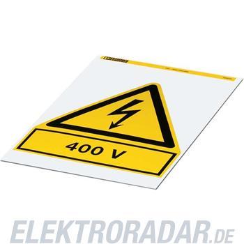 Phoenix Contact Warnschild PML-W203 (200X200)