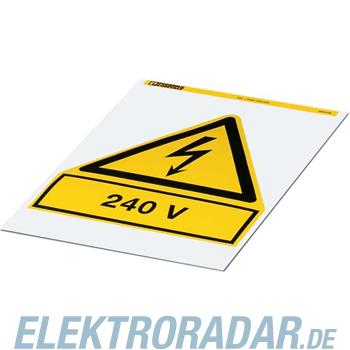 Phoenix Contact Warnschild PML-W205 (200X200)