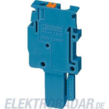 Phoenix Contact Stecker PP-H 1,5/S/1-L BU