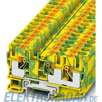 Phoenix Contact Schutzleiter-Reihenklemme PT 10-TWIN-PE