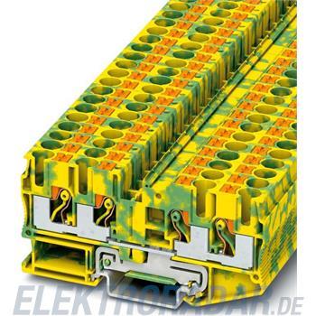 Phoenix Contact Schutzleiter-Reihenklemme PT 6-QUATTRO-PE