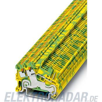 Phoenix Contact Schutzleiter-Reihenklemme PTS 1,5/S-TWIN/1P-PE
