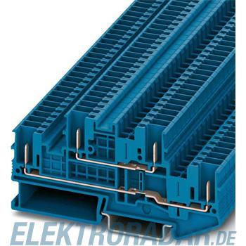 Phoenix Contact Doppelstock-Klemme STTB 2,5/4P BU