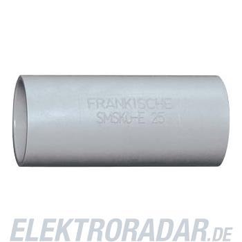 Fränkische Kunststoff-Steckmuffe SMSKu-E-UV 32 grau