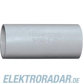 Fränkische Kunststoff-Steckmuffe SMSKu-E-UV 50 grau