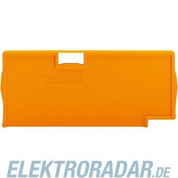 WAGO Kontakttechnik Trennplatte orange 2004-1494