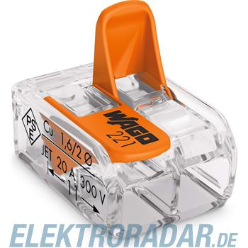 WAGO Kontakttechnik Compact-Verbindungsklemme 221-412