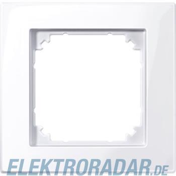 Merten M-PLAN-Rahmen 1f. ws/gl 515125
