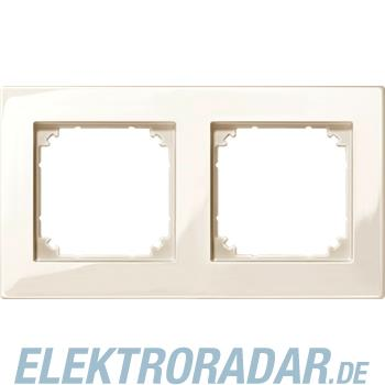 Merten M-PLAN-Rahmen 2f. ws/gl 515244