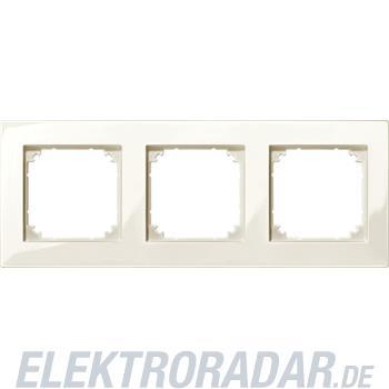 Merten M-PLAN-Rahmen 3f. ws/gl 515344