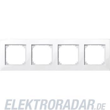 Merten M-PLAN-Rahmen 4f. pws/gl 515419