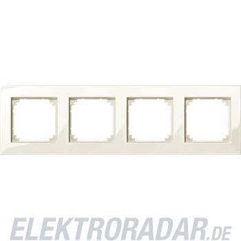 Merten M-PLAN-Rahmen 4f. ws/gl 515444