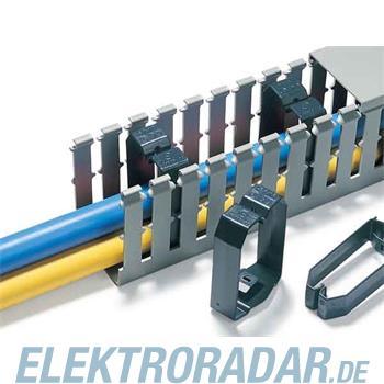 HellermannTyton Drahthalteklammer CL120X60-PVC-BK