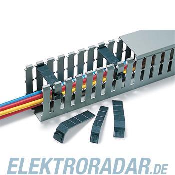 HellermannTyton Drahthalteklammer TR1-PVC-BK