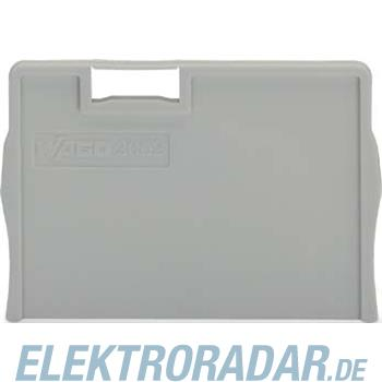 WAGO Kontakttechnik Trennplatte grau 2002-1293