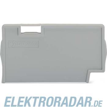 WAGO Kontakttechnik Trennplatte grau 2002-1393