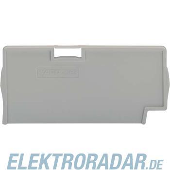 WAGO Kontakttechnik Trennplatte grau 2002-1493