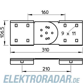 OBO Bettermann Gelenkverbinder RGV110-SM FS