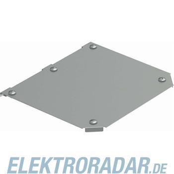 OBO Bettermann Deckel T-Abzweigstück DFTM 100 V2A