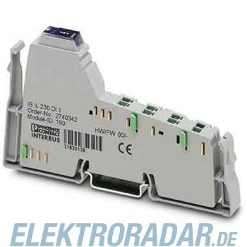 Phoenix Contact Dezentrales kompaktes digi IB IL 230 DI 1-PAC