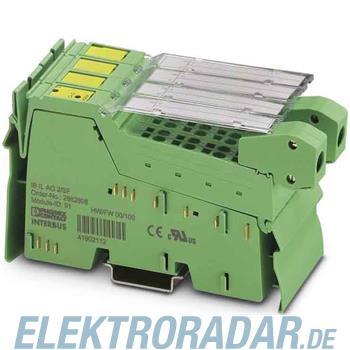 Phoenix Contact Dezentrales kompaktes anal IB IL AO 2/SF-PAC