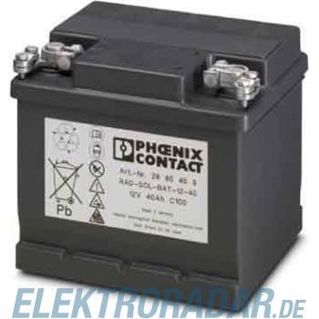Phoenix Contact Solar-Batterie RAD-SOL-BAT-12-40