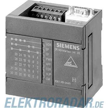 Siemens DP/AS-Interface Link 20E 6GK1415-2AA10