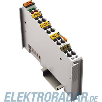 WAGO Kontakttechnik 2-Kanal Eingangsklemme 750-461/000-003