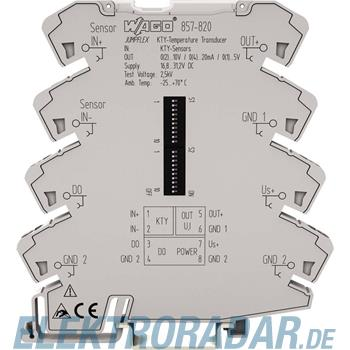 WAGO Kontakttechnik Temperaturmessumformer 857-820