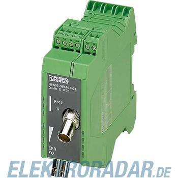 Phoenix Contact LWL-Umsetzer PSI-MOS-CNET/FO 850E
