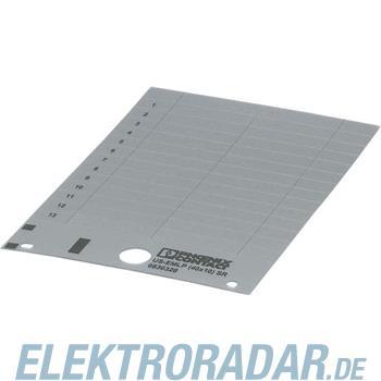 Phoenix Contact Kunststoffschild US-EMLP (27X8) SR