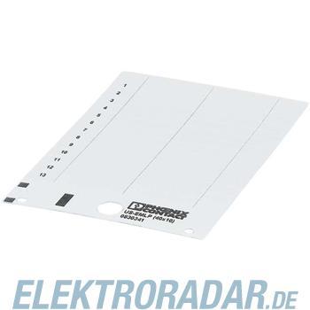 Phoenix Contact Kunststoffschild US-EMLP (40X10)