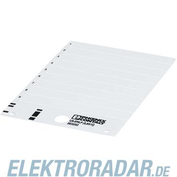 Phoenix Contact Kunststoffschild US-EMLP (8,8X15)