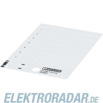 Phoenix Contact Kunststoffschild US-EMLP (8,8X15) YE
