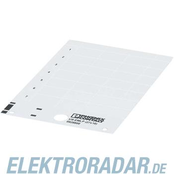 Phoenix Contact Kunststoffschild US-EMLP (85,6X54)