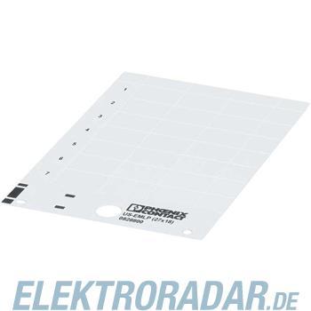 Phoenix Contact Kunststoffschild US-EMLP (85,6X54) YE