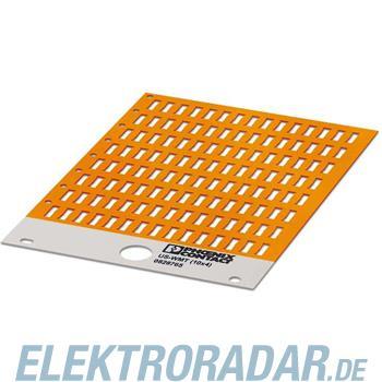 Phoenix Contact Kabelmarker US-WMT (10X4) OG