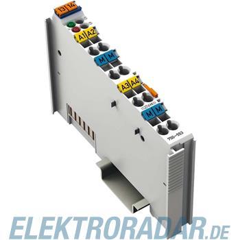 WAGO Kontakttechnik Analog Ausgangsklemme 750-553
