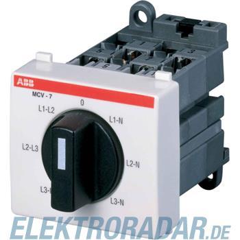 ABB Stotz S&J Spannungsmesser-Umschalter MCV-7