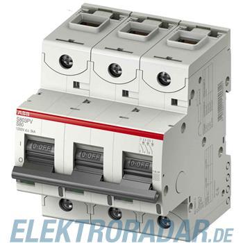 ABB Stotz S&J Photovoltaik Strangschutz S802PV-S50