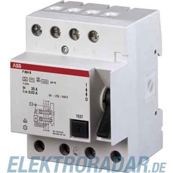 ABB Stotz S&J FI-Schalter F804B-80/0,5AP-R